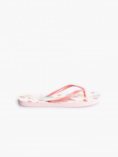 Printed flip-flops