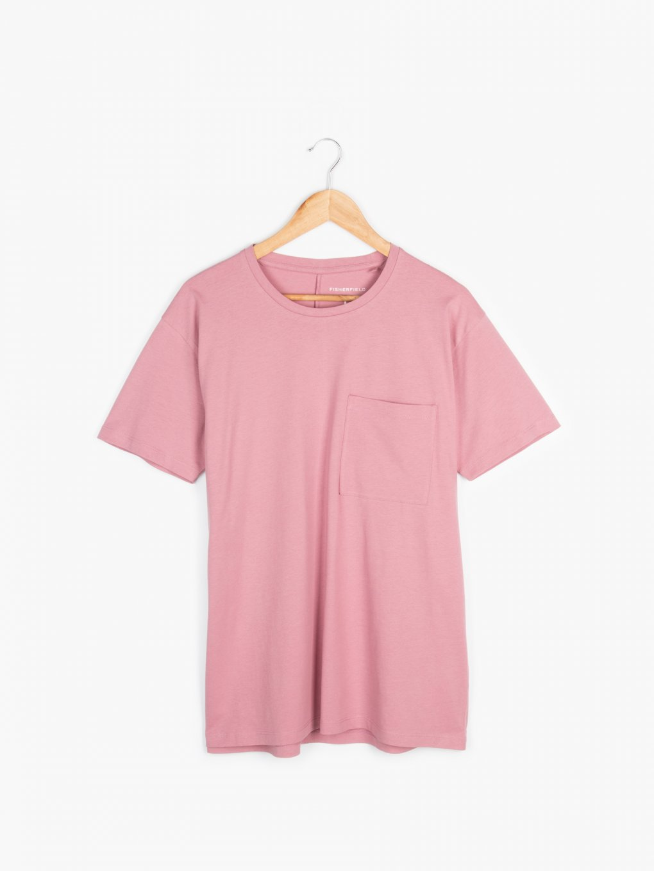Koszulka basic z kieszonką