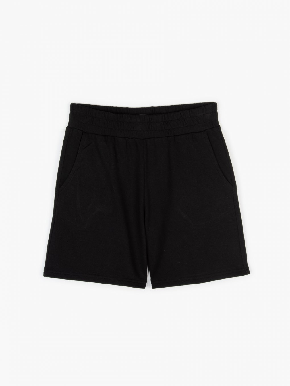 Regular fit sweatshorts with pockets
