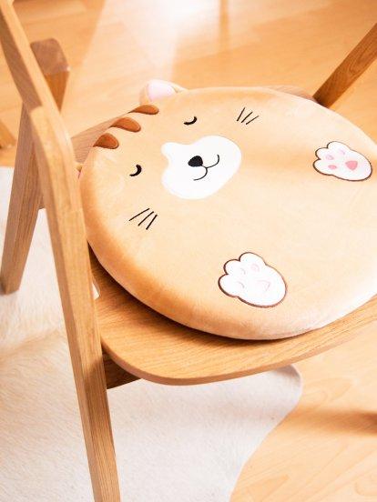 Round animal cushion