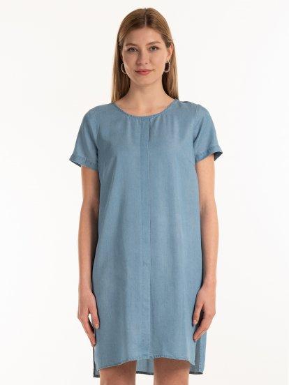 Šaty z lyocellu