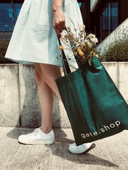 Nákupní taška z netkané textilie (40x43 cm)