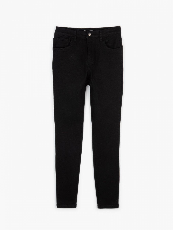 Elastic skinny trousers