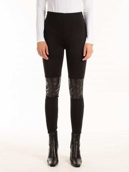 Kombinované kalhoty slim