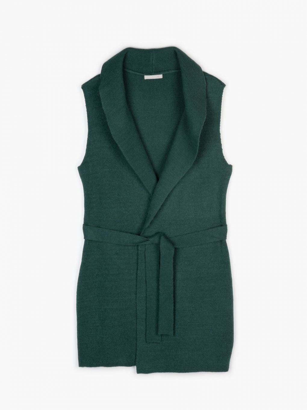 Knitted vest