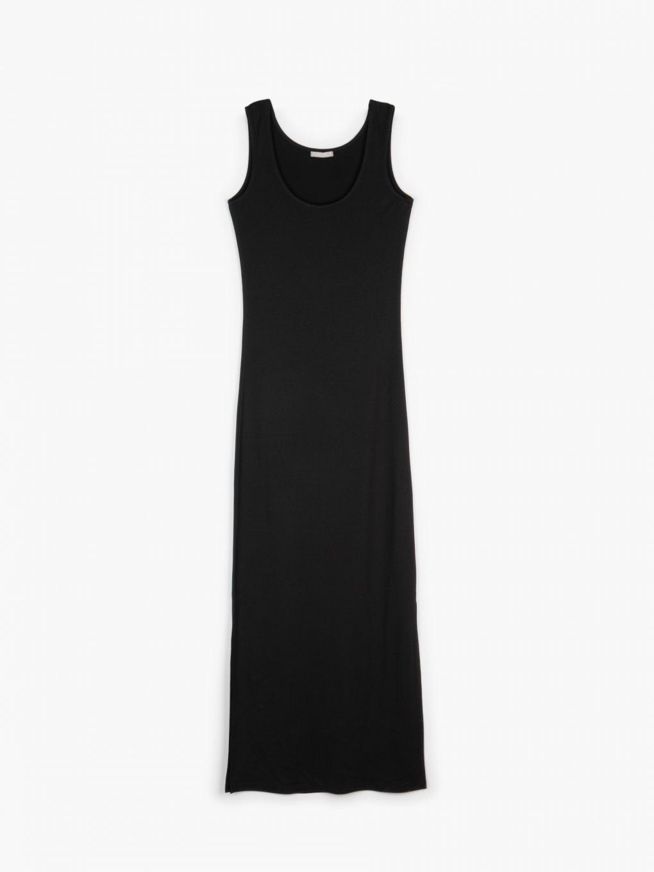 Długa dopasowana sukienka