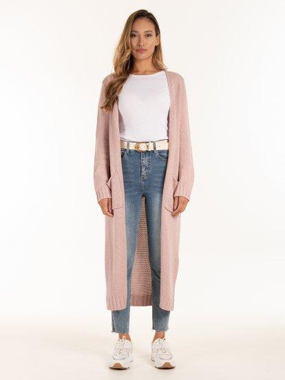 Longline cardigan