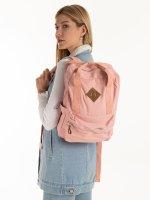 Plátený ruksak