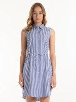 Sukienka koszulowa w paski