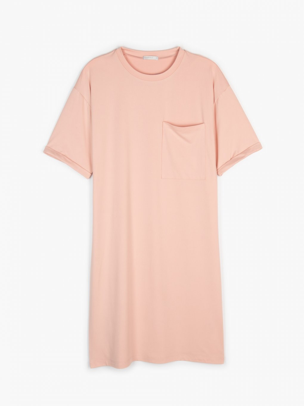 T-shirt dress with chest pocket