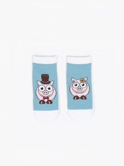 Patterned socks