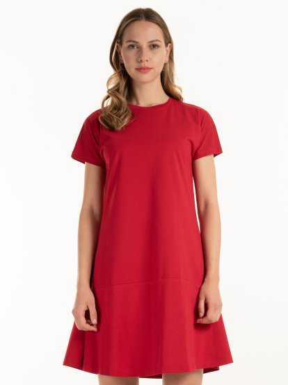 Základné bavlnené šaty
