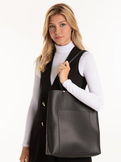 Taška na rameno s kapsou
