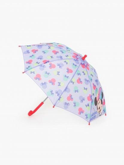 Detský dáždnik MINNIE MOUSE / 66cm /