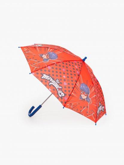 Detský dáždnik  MIRACULOUS / 76 cm /