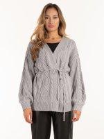 Sweter z dzianiny