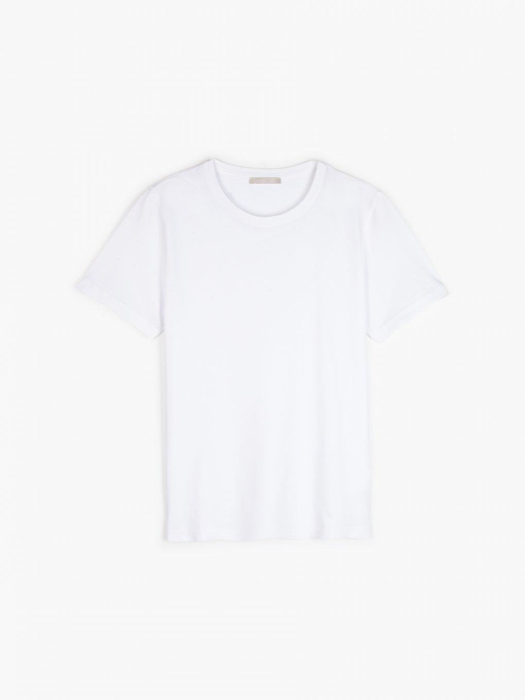 Základní bavlněné triko s krátkým rukávem