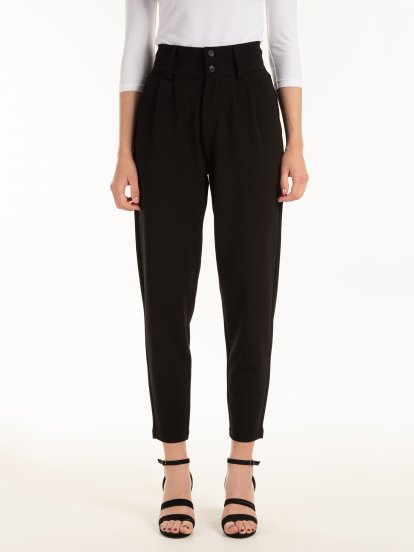 Elastic trousers