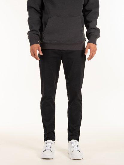 Kalhoty straight slim
