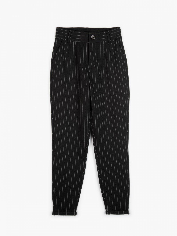 Proužkované kalhoty