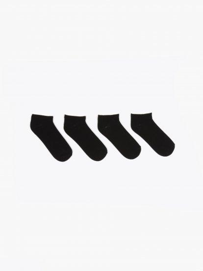 2-pack basic ankle socks