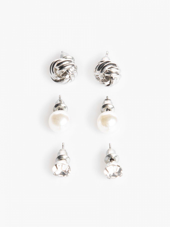 3-pack earrings