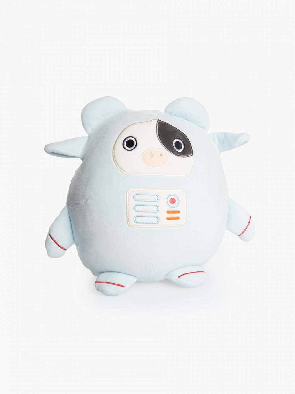 Space cow pillow