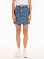 Dżinsowa mini spódniczka