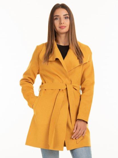Basic robe coat