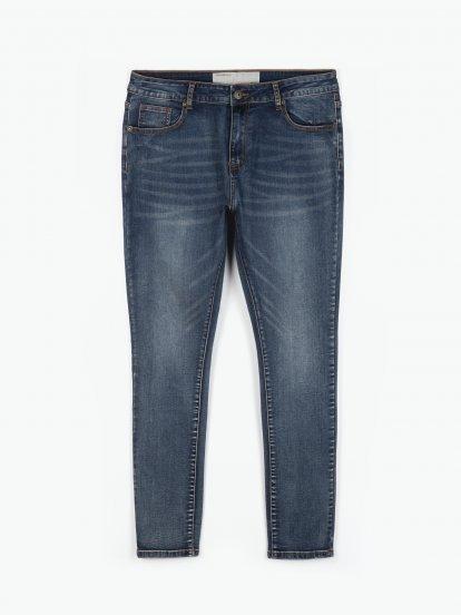 Basic slim fit džíny