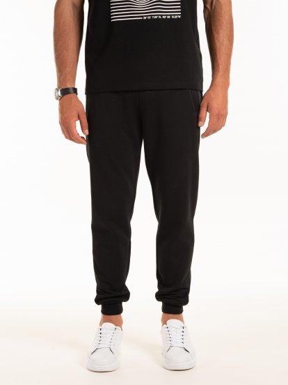 Spodnie jogger ze stretchem