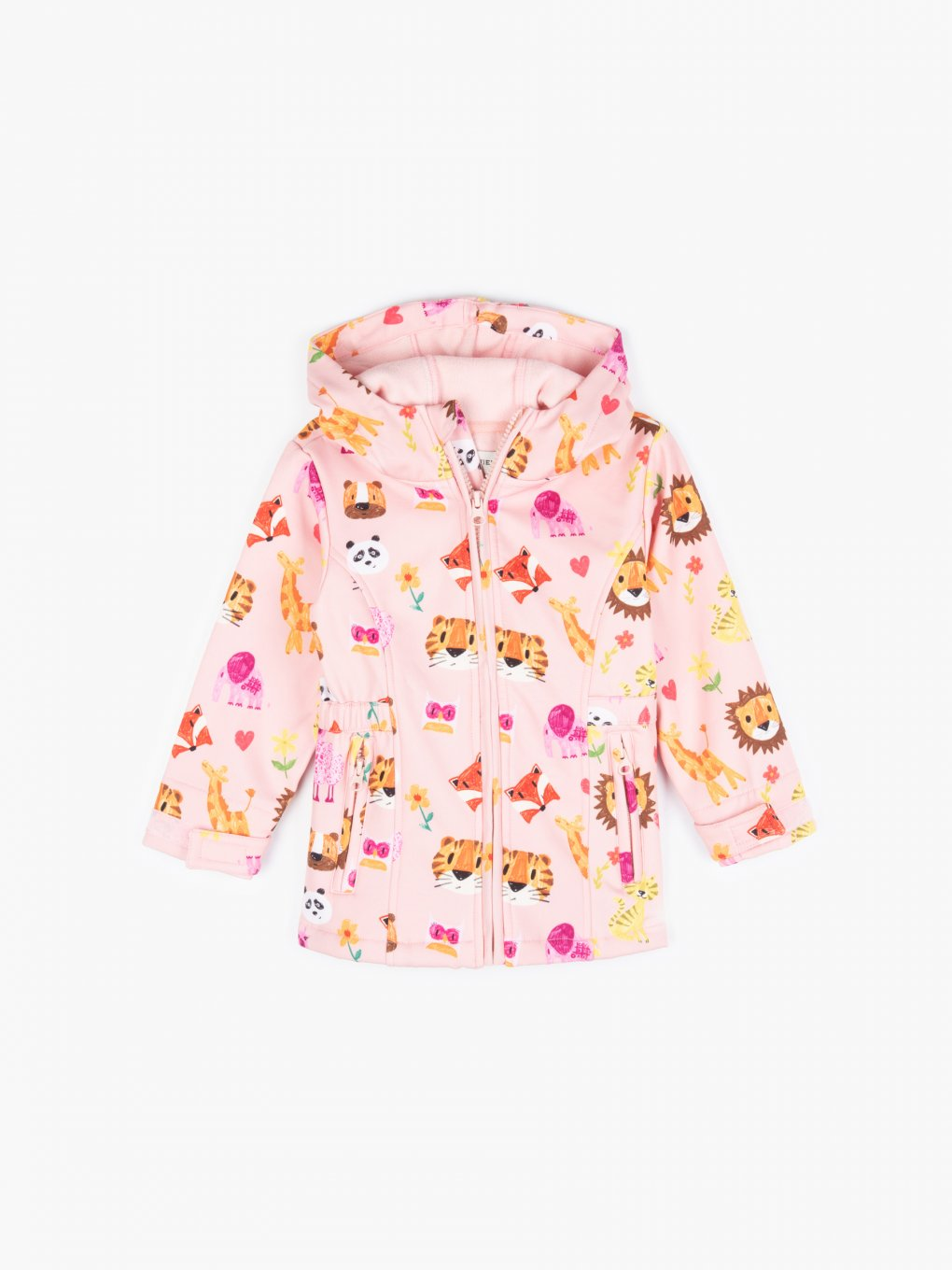 Softshell jacket with print