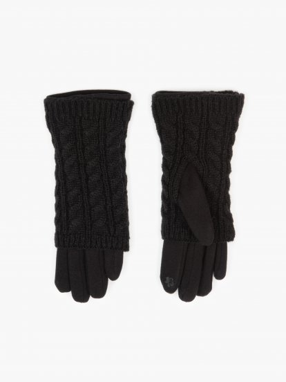 2 in 1 combined gloves