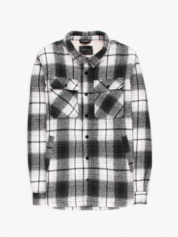 Košilová bunda s podšívkou