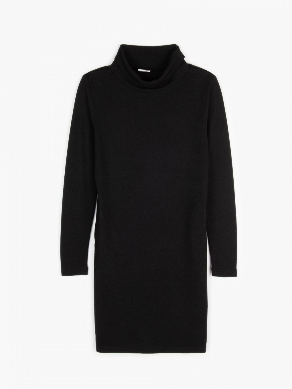 Knitted rollneck dress