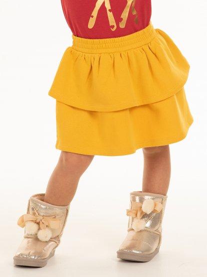 Tepláková sukňa