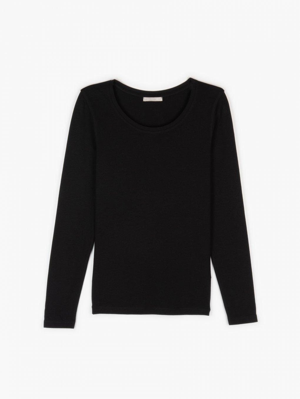 Základné bavlnené elastické tričko