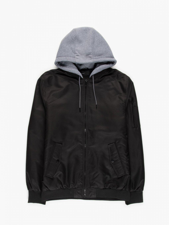 Light padded bomber jacket