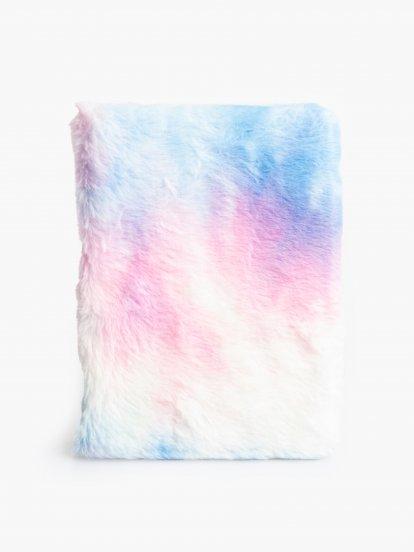 Farebný chlpatý zápisník