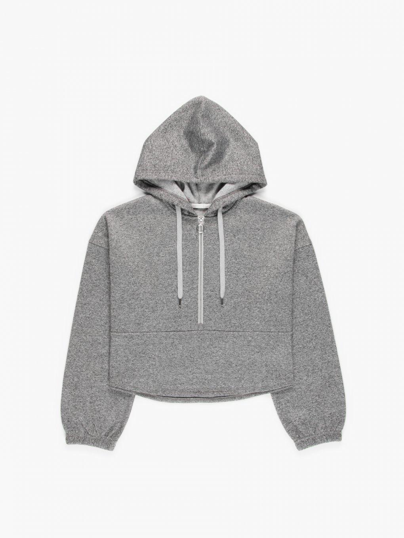 Marled hoodie