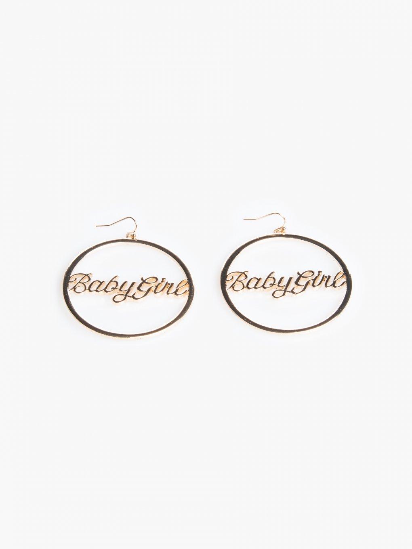 """Earrings """"babygirl"""""""