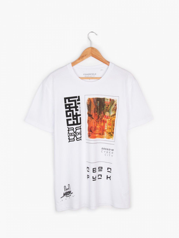 Potištěné bavlněné tričko