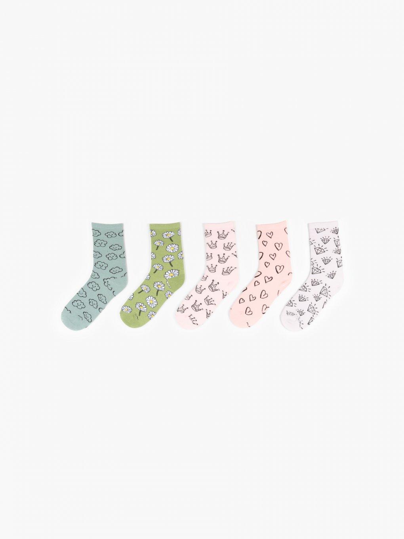 5-pack crew socks