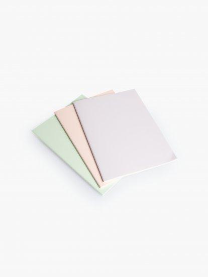 Set 3 zápisníkov