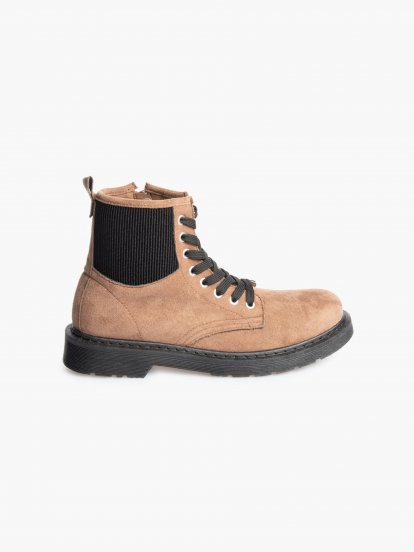 Topánky z imitácie semišu