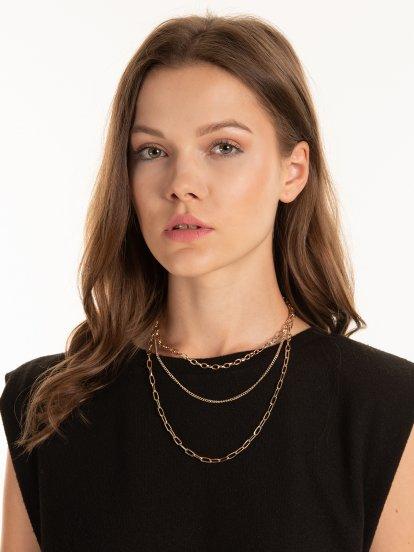 Multirow necklace