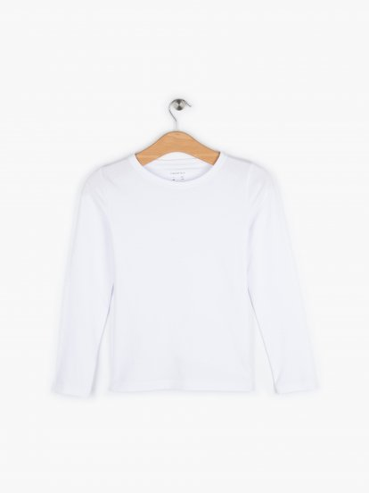 Jednoduché strečové žerzejové tričko