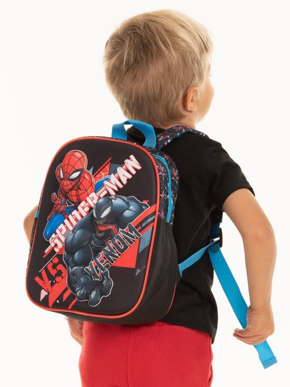 Backpack with 3D SPIDERMAN /28 x 22 x 10 cm/