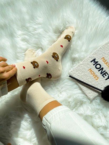 2 pack patterned socks