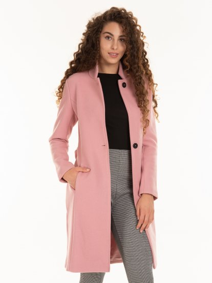 Kabát s opaskom